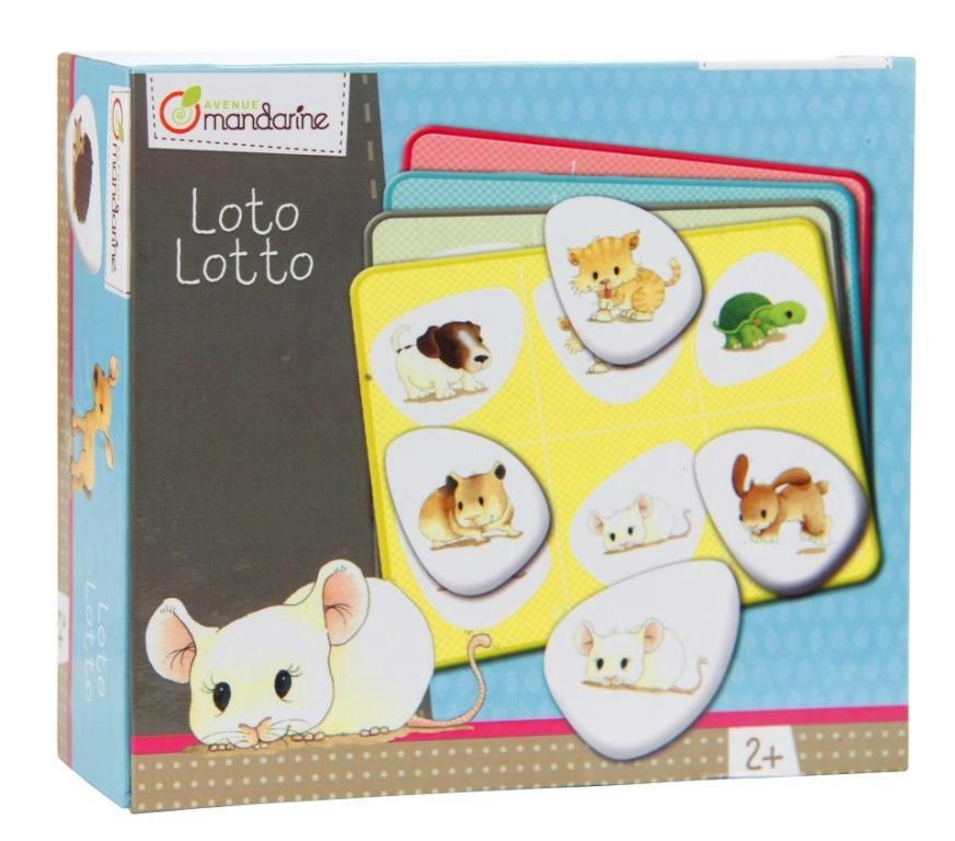 Dětská hra Loto Zvířátka, Avenue Mandarine