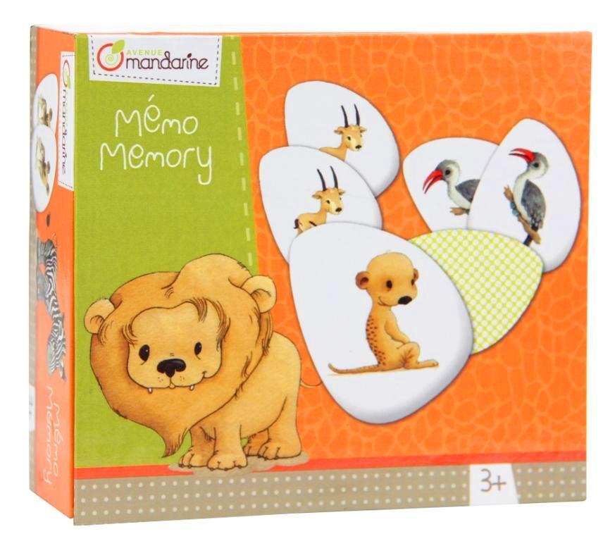 Dětská hra Memo Zvířátka, Avenue Mandarine
