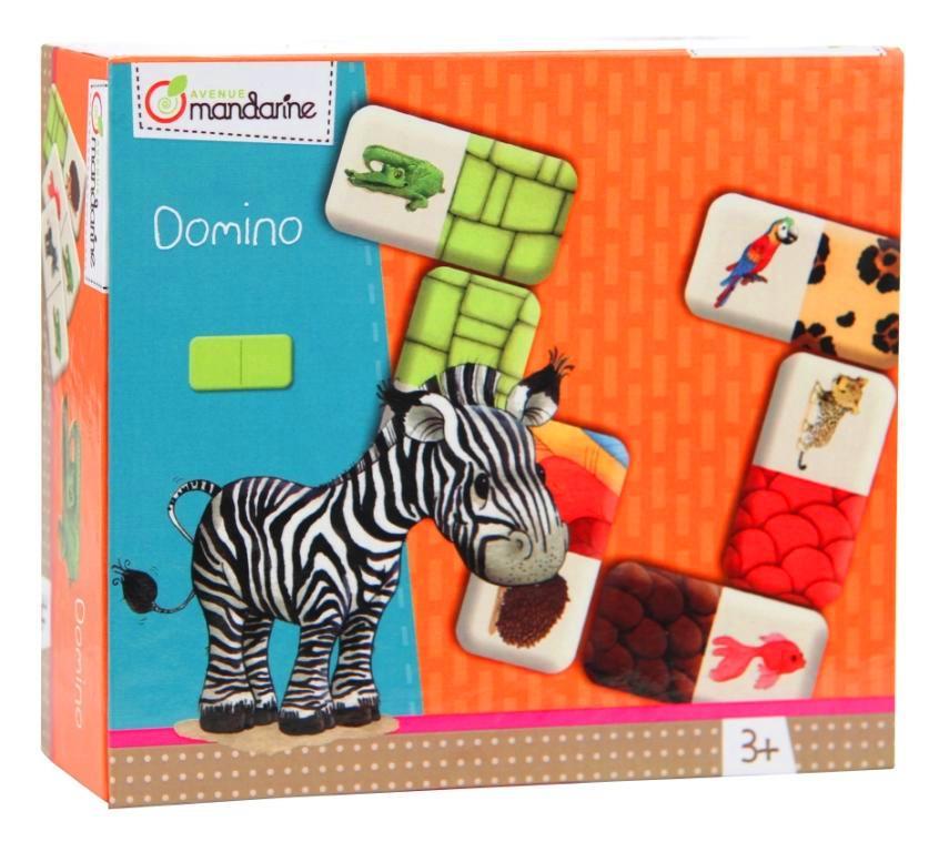 Dětská hra Domino Zvířátka, Avenue Mandarine