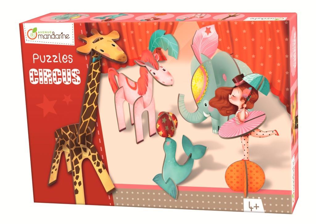 3D puzzle Dívka v cirkusu, Avenue Mandarine