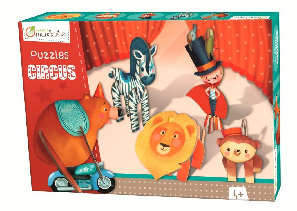3D puzzle Chlapec v cirkusu, Avenue Mandarine