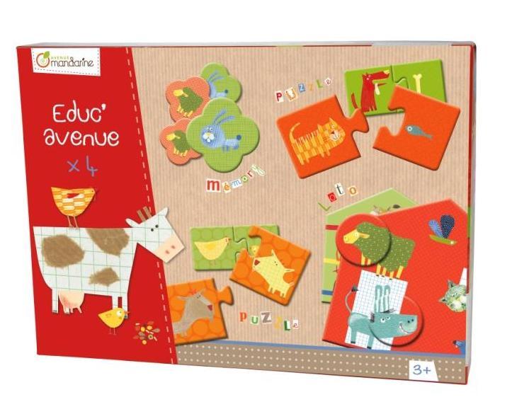 Sada her pro děti od 3 let, Avenue Mandarine