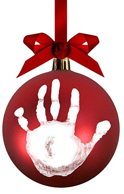 Vánoční ozdoba Pearhead s otiskem