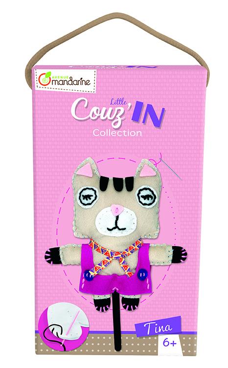 Dětské šití Kočička Tina, Avenue Mandarine