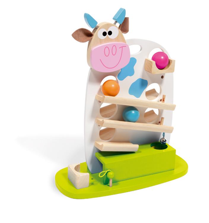 Kuličková dráha kravička, Scratch