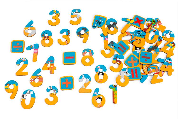 Magnetická čísla Safari, Scratch