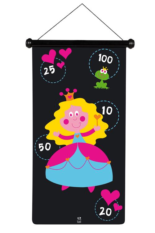 Velké magnetické šipky Princezna, Scratch