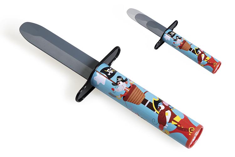 Pirátský nůž, Scratch