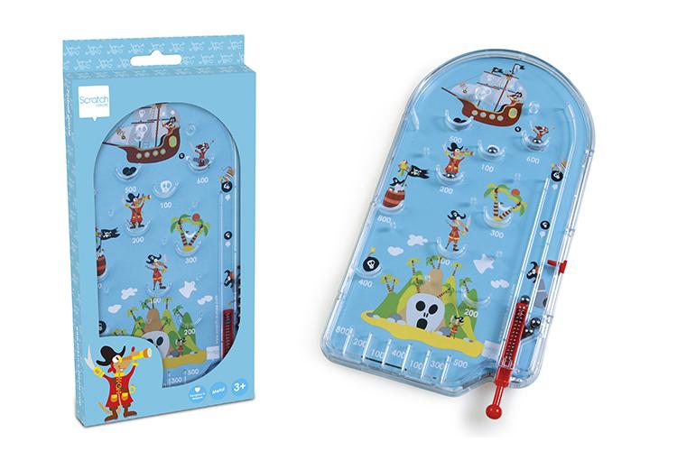 Dětská hra Pinball Piráti, Scratch