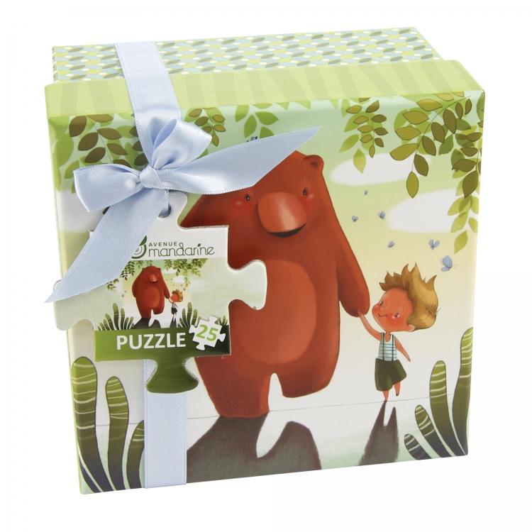 Puzzle v krabičce Kamarádi, Avenue Mandarine