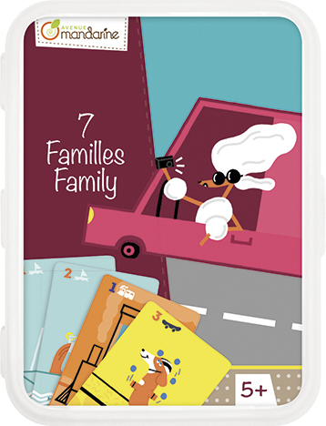 Karetní hra Kvarteto Psí rodinka, Avenue Mandarine