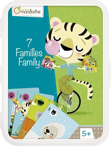 Karetní hra Kvarteto Zvířecí rodinka, Avenue Mandarine