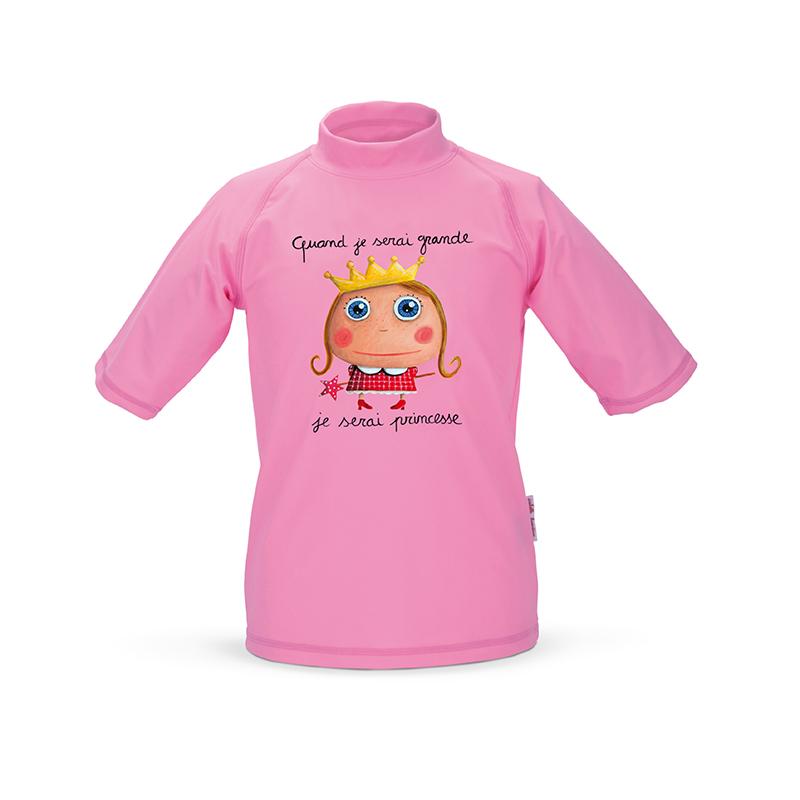 Dětské UV triko Princezna 4-5 let, Label Tour