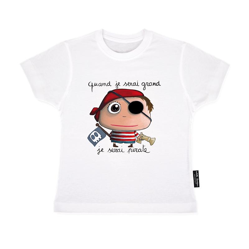 Dětské triko Pirát 2-3 roky, Label Tour