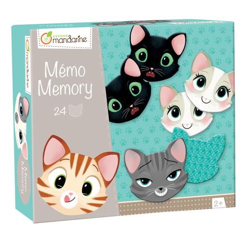 Dětská hra Memo Kočky, Avenue Mandarine